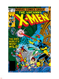 Uncanny X-Men No.128 Cover: Wolverine, Colossus, Grey, Jean, Cyclops, Nightcrawler and X-Men Plastic Sign by George Perez