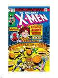 Uncanny X-Men No.123 Cover: Arcade Plastic Sign by John Byrne