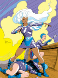 Classic X-Men No.22 Cover: Storm Plastic Sign by John Bolton