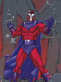 X-Men: Prelude to Schism No.2 Cover: Magneto Standing Wall Decal by Giuseppe Camuncoli