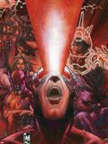 Astonishing X-Men No.30 Cover: Cyclops Plastic Sign by Simone Bianchi