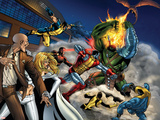 World War Hulk: X-Men No.2 Group: Wolverine Signe en plastique rigide par Andrea Di Vito