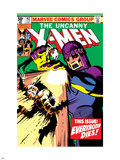 Uncanny X-Men No.142 Cover: Wolverine and Sentinel Plastic Sign by John Byrne