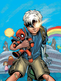 Cable/Deadpool No.18 Cover: Cable Plastic Sign by Patrick Zircher