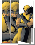X-Men: Prelude To Schism No.4: Panels with Wolverine in Thought Prints by Clay Mann