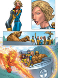 X-Men: First Class No.1 Group: Marvel Girl Prints by Roger Cruz
