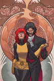 All-New X-Men 14 Cover: Grey, Jean Plastic Sign by Stuart Immonen