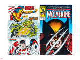 Marvel Comics Presents No.2 Cover: Wolverine Wall Decal by John Buscema
