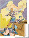 Classic X-Men No.22 Cover: Storm Wood Print by John Bolton
