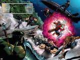 World War Hulk: X-Men No.2 Group: Hulk Signe en plastique rigide par Andrea Di Vito