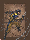 Weapon X No.25 Cover: Wolverine Wall Decal by Andy Park