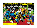 Phoenix: The Untold Story No.1 Group: Storm Wall Decal by John Byrne