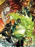 Astonishing X-Men No.49 Cover: Chimera, Harpoon, Blockbuster, and Prism Wall Decal by Dustin Weaver