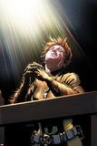 X-Factor 258 Classic: Wolfsbane Plastic Sign by David Yardin
