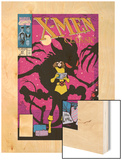 X-Men Classic No.47 Cover: Shadowcat Wood Print by Steve Lightle