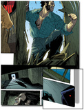 Wolverine No.10: Panels with Logan Smashing In Prints by Renato Guedes