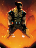 Wolverine No.305 Cover Plastic Sign by Jim Cheung