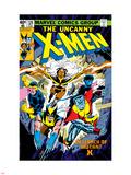 Dave Cockrum - Uncanny X-Men No.126 Cover: Wolverine, Colossus, Storm, Cyclops, Nightcrawler and X-Men Fighting Plastové cedule
