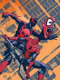 Exiles No.96 Cover: Spider-Man Wall Decal by Tomm Coker