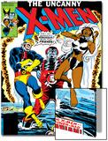 Dave Cockrum - Uncanny X-Men No.124 Cover: Storm, Colossus and Cyclops Plakát