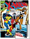 Uncanny X-Men No.124 Cover: Storm, Colossus and Cyclops Posters by Dave Cockrum