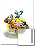 Classic X-Men No.23 Cover: Nightcrawler Art by John Bolton