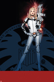 Uncanny X-Men 9 Cover: Dazzler Plastic Sign by Chris Bachalo