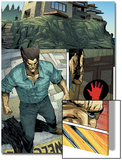 Wolverine No.10: Panlels with Logan Approaching a Settlement Prints by Renato Guedes