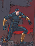 X-Men: Prelude to Schism No.3 Cover: Cyclops Standing on Rubble Plastic Sign by Giuseppe Camuncoli