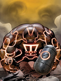 Uncanny X-Men No.540 Cover: Juggernaut with a Hammer Wall Decal by Greg Land