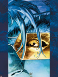 Ultimate X-Men No.15 Cover: Beast Wall Decal by Adam Kubert