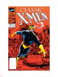 X-Men Classic No.44 Cover: Cyclops Plastic Sign by Steve Lightle