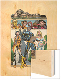 New X-Men No.3 Group: Cyclops, Emma Frost, Moonstar and Danielle Wood Print by Staz Johnson