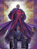 Excalibur No.4 Cover: Magneto and Professor X Plastic Sign