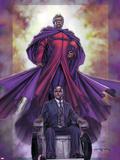 Excalibur No.4 Cover: Magneto and Professor X Plastic Sign