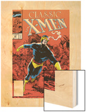 X-Men Classic No.44 Cover: Cyclops Wood Print by Steve Lightle
