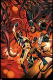 Wolverine 6 Cover: Wolverine, S.H.I.E.L.D. Plastic Sign by Alan Davis