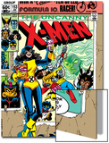 Uncanny X-Men No.153 Cover: Shadowcat and Colossus Posters by Dave Cockrum