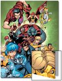 New X-Men No.15 Group: Surge Art by Paco Medina