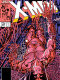 Uncanny X-Men No.205 Cover: Wolverine Plastic Sign by Barry Windsor-Smith