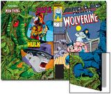 Marvel Comics Presents No.6 Cover: Cyclops Poster by John Buscema