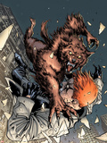 X-Factor No.208 Cover: Wolfbane and Shatterstar Falling Plastic Sign by David Yardin
