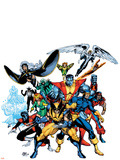 Marvel Legends: Arthur Adams TPB Cover: Wolverine Wall Decal by Arthur Adams