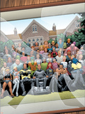 New X-Men No.126 Cover: Professor X, Cyclops, Grey, Jean, Wolverine and Beast Plastic Sign by Frank Quitely