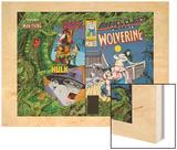 Marvel Comics Presents No.6 Cover: Cyclops Print by John Buscema