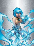 New X-Men No.3 Cover: Surge Plastic Sign by Randy Green
