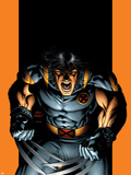 Ultimate X-Men No.52 Cover: Wolverine Plastic Sign by Andy Kubert
