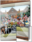New X-Men No.126 Cover: Professor X, Cyclops, Grey, Jean, Wolverine and Beast Prints by Frank Quitely