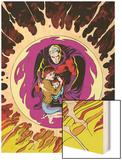 Classic X-Men No.12: Magneto Wood Print by John Bolton