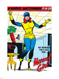 X-Men No.9: Marvel Girl Plastic Sign by Jack Kirby
